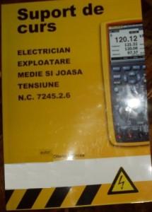 Curs electrician exploatare medie si joasa tensiune Dupa acest suport de curs a fost calificat Petromul,este o varianta mai veche de manual