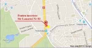 Contact Str Lanariei 83 Aici va puteti inscrie ,depuneri acte